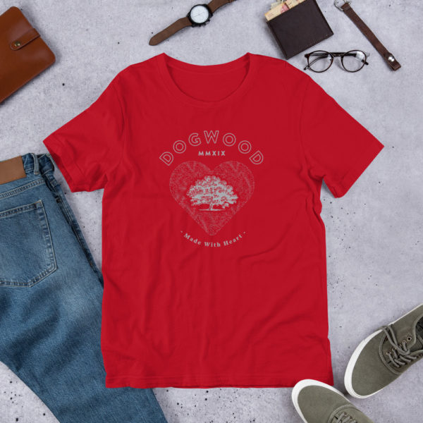 "Short-Sleeve Unisex ""Fans of the School in T-Town"" T-Shirt 1"